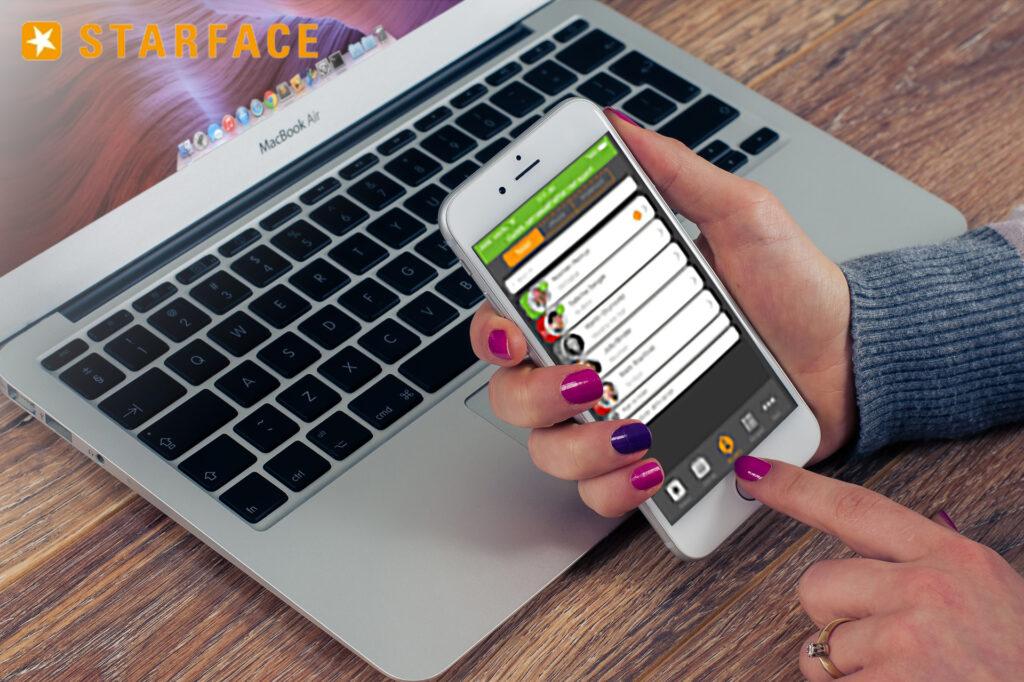 Starface UCC-Client auf Smartphone
